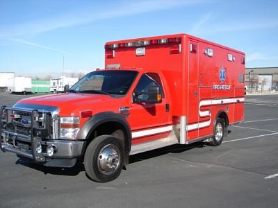 2009 Ford F450 Ambulance - $34,000.00